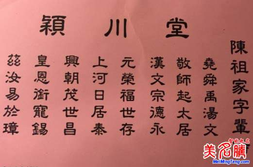 2019年国字辈猪宝宝起名大全