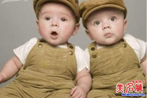 送给双胞胎男孩最帅气的英文名