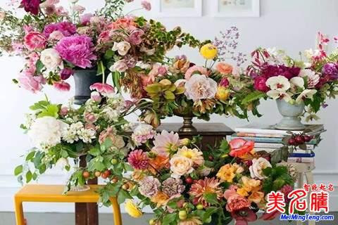 优雅温馨的花艺公司名字